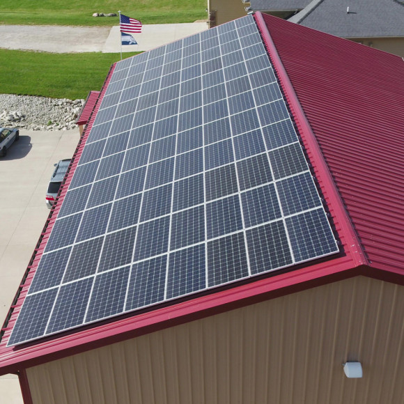 Solar Company, Solar Installer, Contractor Iowa, Illinois